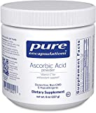 Pure Encapsulations - Ascorbic Acid Powder - Hypoallergenic Vitamin C Supplement for Antioxidant Support* - 8 Ounces