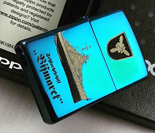 Zippo 18676 Schlachtschiff Bismarck - Sapphire - Diamantgravur - Limited Edition 0001/1000-1000/1000, Chrom