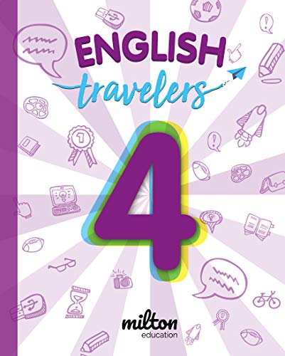 Travelers Red 4 - English Language 4 Primaria (Travelers Red - Milton Education)