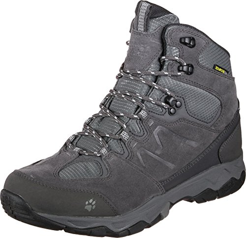 Jack Wolfskin Damen MTN Attack 6 Texapore Trekking- & Wanderstiefel, Grau (Grey Haze 4650), 39.5 EU