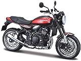 Maisto Kawasaki Z900RS: Originalgetreues Motorradmodell, Maßstab 1:12, mit Federung und...