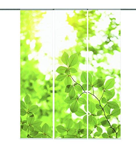 Home Fashion Schiebewand, Kunstfaser, Grün