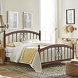 Hillsdale Furniture Burton Way King Bed Set, Cherry