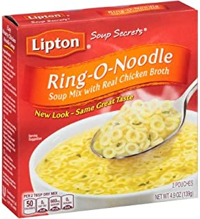 Lipton, Soup Secrets, Soup Mix With Real Chicken Flavor Broth (Pack of 4)