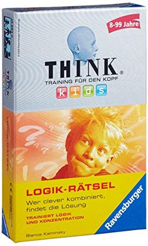 Ravensburger 23294 - Think Kids Logik-Rätsel - Mitbringspiel