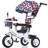 GWCD-STC Triciclos Triciclo Infantil Trolley 1-3-5 años...