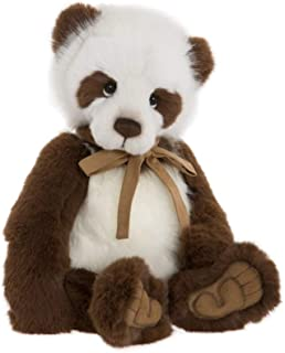 Charlie Bears KARL- Soft Plush Collectible Toy- Fully Jointed Animal- Limited Edition-Amazing Teddy Bear 44 cm