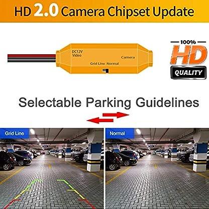 HD-Goldene-Rueckfahrkamera-1280-720-Pixel-1000TV-Linien-Kamera-fuer-BMW-X5-E53-E70-X3-E83-X6-E71-E72Wasserdicht-Nachtsicht-Einparkhilfe-Rueckfahrkamera