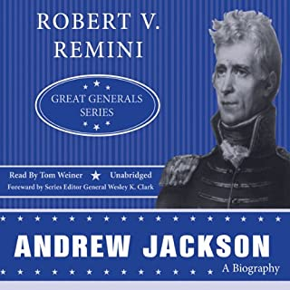Andrew Jackson audiobook cover art