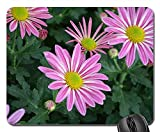 Mouse Pad - Flowers Colors Yellow White Purple Flowers Flowers