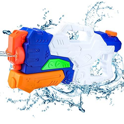 Juguete de Pistola de Agua, Pistolas de pulverización de 1000 ml 3 boquillas para niños Adultos Pistolas de pulverización de Agua Grandes de 8-10 Metros de Largo Alcance …