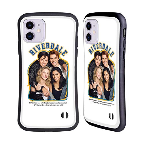 Head Case Designs Officially Licensed Riverdale Riverdale Cast 2 Art Hybrid Case Compatible with Apple iPhone 11