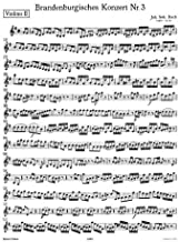 Bach, J.S. - Brandenburg Concerto No. 3 BWV 1048 for 2nd Violin - Peters Edition