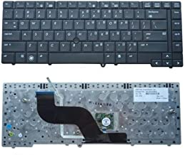 New Genuine HP ProBook 6440b Keyboard US with Pointing Stick V103102AS1 V103126AS1 US