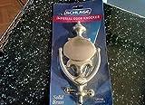 SCHLAGE LOCK CO 3107-619 11x5.5 DR Knocker, Satin Nickel