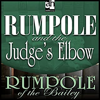 Rumpole and the Judge's Elbow audiobook cover art