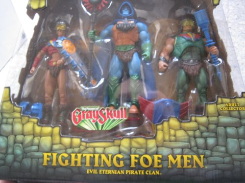 Mattel - Juego de figuras de acción, diseño de He-Man y los masters del Universo