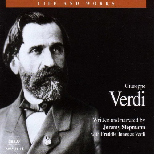 Life & Works - Giuseppe Verdi                   By:                                                                                                                                 Jeremy Siepmann                               Narrated by:                                                                                                                                 Jeremy Siepmann,                                                                                        Freddie Jones,                                                                                        Elaine Claxton,                   and others                 Length: 4 hrs and 53 mins     2 ratings     Overall 5.0