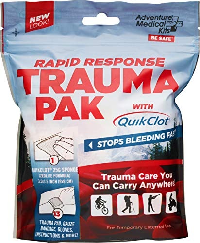 Adventure Medical Kits Rapid Response Trauma Pak with QuickClot