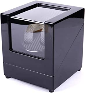 Double Automatic Watch Winder, Mute Japanese Motor, Antimagnetic design,low energy consumption,Battery Powered or AC Adapt...