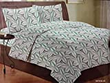 Bombay Dyeing Sage 210TC King Size One Double Bed Sheet with Two Pillow Cover