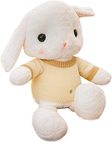 Precio al por mayor y calidad confiable. Linda muñeca Almohada niña Conejo Conejo Conejo Peluche muñeca Conejo blanco muñeca Linda Regaño Festivo Juguete Cómodo para Niños Peluche Lleno Relleno Completo, Piel Suave (Color   Khaki, Talla   75cm)  saludable