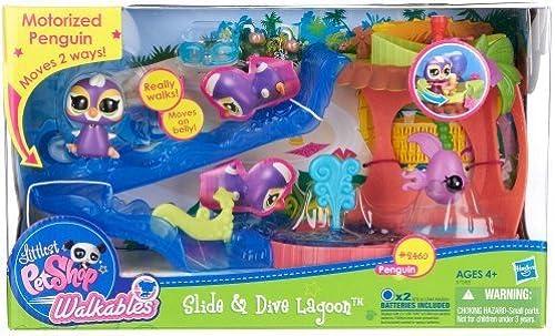 apresurado a ver Littlest Pet Pet Pet Shop Slide and Dive Lagoon Playset by Hasbro  tomamos a los clientes como nuestro dios