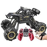 WANIYA1 スーパーラージ RC.車のスタントオフロードカーアロイリモコンカー四つんすべての地形を防水したドリフト RC.大人と男の子のための大きな足のモンスタートラックのおもちゃ (Size : 2 battery packs)