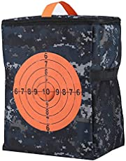 Bolsa De Almacenamiento Portátil Target Target Bolsa De Almacenamiento De Balas Equipaje con Mochila Bolsa Kids Target para N-Strike Elite