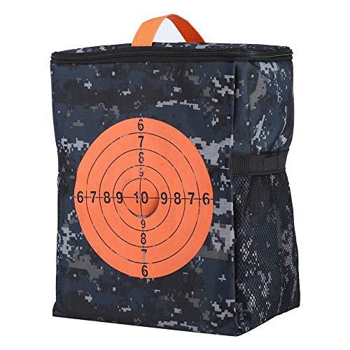 Garosa Tragbar Zielbeutel Aufbewahrungstasche Kugel Lagerung Tragen Ausrüstung Rucksack Tasche Kinder Zielbeutel für N-Streik Elite