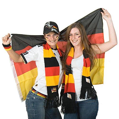 FLAGMASTER® Aluminium Fahnenmast 6,50 m, inkl. Deutschland Fahne + Bodenhülse + Zugseil, 3 Jahre Garantie - 9