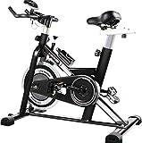 KQBAM Attrezzature per Il Fitness Home Cyclette Silenziose Cyclette Indoor Adatte per Gli Impiegati di Internet &&