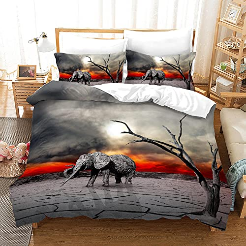 Bedclothes-Blanket Juego de Cama Matrimonio,Ropa de Cama de Tres Piezas de Pulido Digital 3D-En uno_210 * 210
