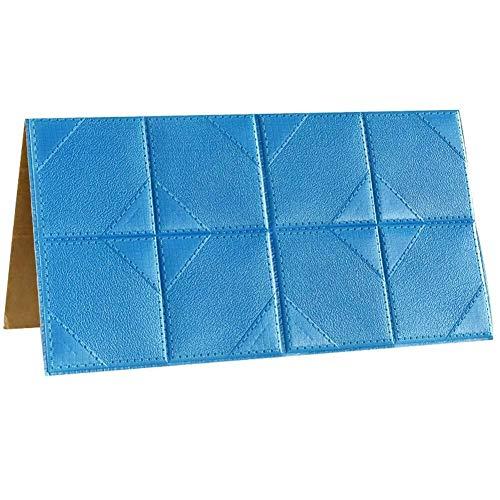 XJLG 3D behang muur papier 3D baksteen behang PE schuim vochtbestendige meeldauw muur stickers imitatie hout graan zachte muur rok plafond plafond sticker baksteen behang