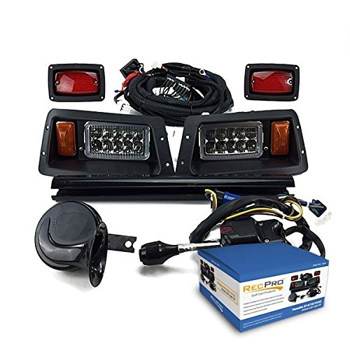 New RecPro Yamaha G14-G22 Golf CART Deluxe Street Legal All LED Light KIT
