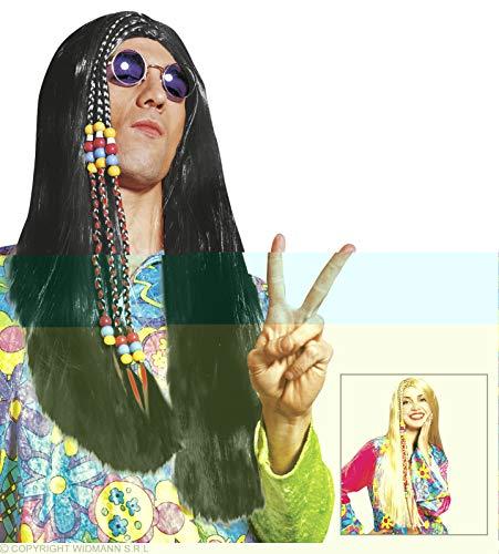 Widmann Starfêtes - Perruque Adulte - Hippy Blonde