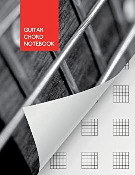 Guitar Chord Notebook  blank | 110 pages | Guitar/Bass Fretboard Paper