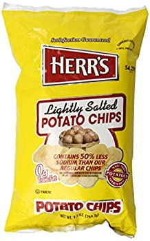Herr s Lightly Salted Potato Chips 9.5 Oz