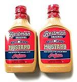 Bertman Ball Park Mustard - 2 16 Ounce Bottles of Original Bertman Mustard,  Great Value