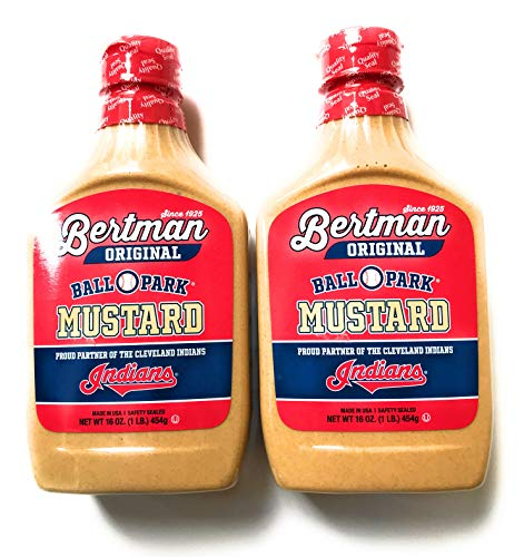 Bertman Ball Park Mustard - 2 16 Ounce Bottles of Original Bertman Mustard,  Great Value