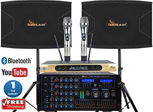 Buy Bargain HOME KARAOKE SYSTEM IDOlmain Latest Mixing Amplifier 6000W With Dual Super Bass 12 Spea...