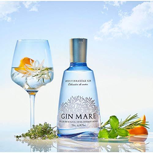 Gin Mare (1 x 0,7 l) – Würzig-aromatischer Gin aus Spanien - 2