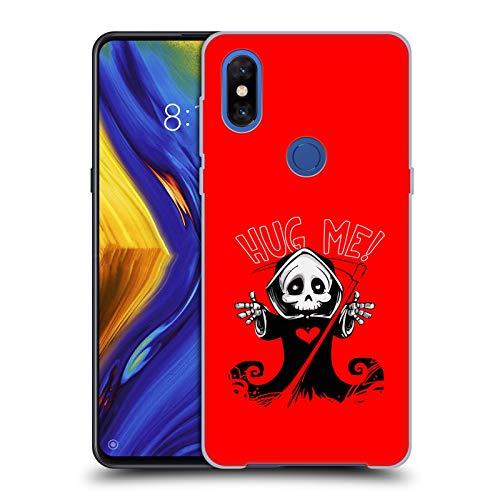 Head Case Designs Oficial Haroulita Abrazo de la Muerte Mezcla de gráficos Carcasa rígida Compatible con Xiaomi Mi Mix 3