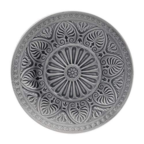 BUTLERS Sumatra Teller Ø 31 cm - Lila Essteller mit Muster, Keramik - Speiseteller, Servierteller - Feines Geschirr