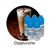 MA POTION - Lot de 5 E-Liquide Cappuccino, Eliquide Français Ma Potion, recharge liquide cigarette électronique. Sans...