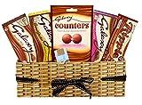 Canasta de Chocolate Galaxy-Canastas de Regalo de Canasta de Chocolate-8 Combo de Chocolates Galaxy-1 Chocolate Vegano Gratis