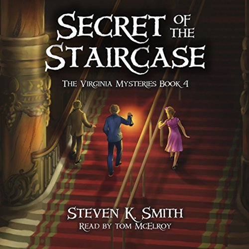 Secret of the Staircase audiobook cover art