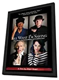 See What I'm Saying: The Deaf Entertainers Documentary 11 x 17 Movie Poster - Style A - in Deluxe Wood Frame