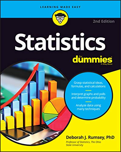 Compare Textbook Prices for Statistics For Dummies For Dummies Lifestyle 2 Edition ISBN 9781119293521 by Rumsey, Deborah J.