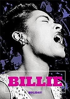 777 Tri-Seven Entertainment Billie Holiday Poster Lady Day Art Print (18x24), Black/White